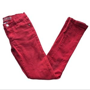 🧚♀4/$25 Parasuco Size 12 Skinny Red Jeans